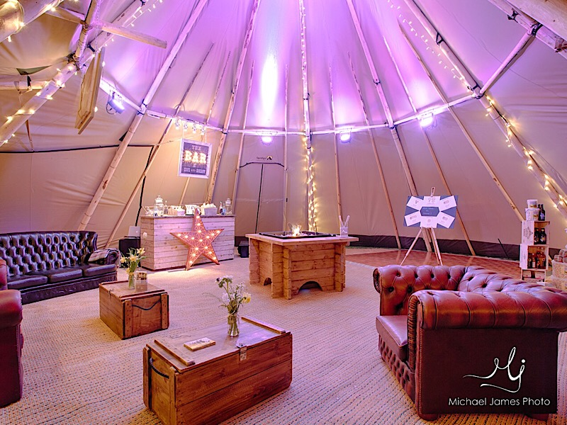 Giant Tipi Hire Norfolk