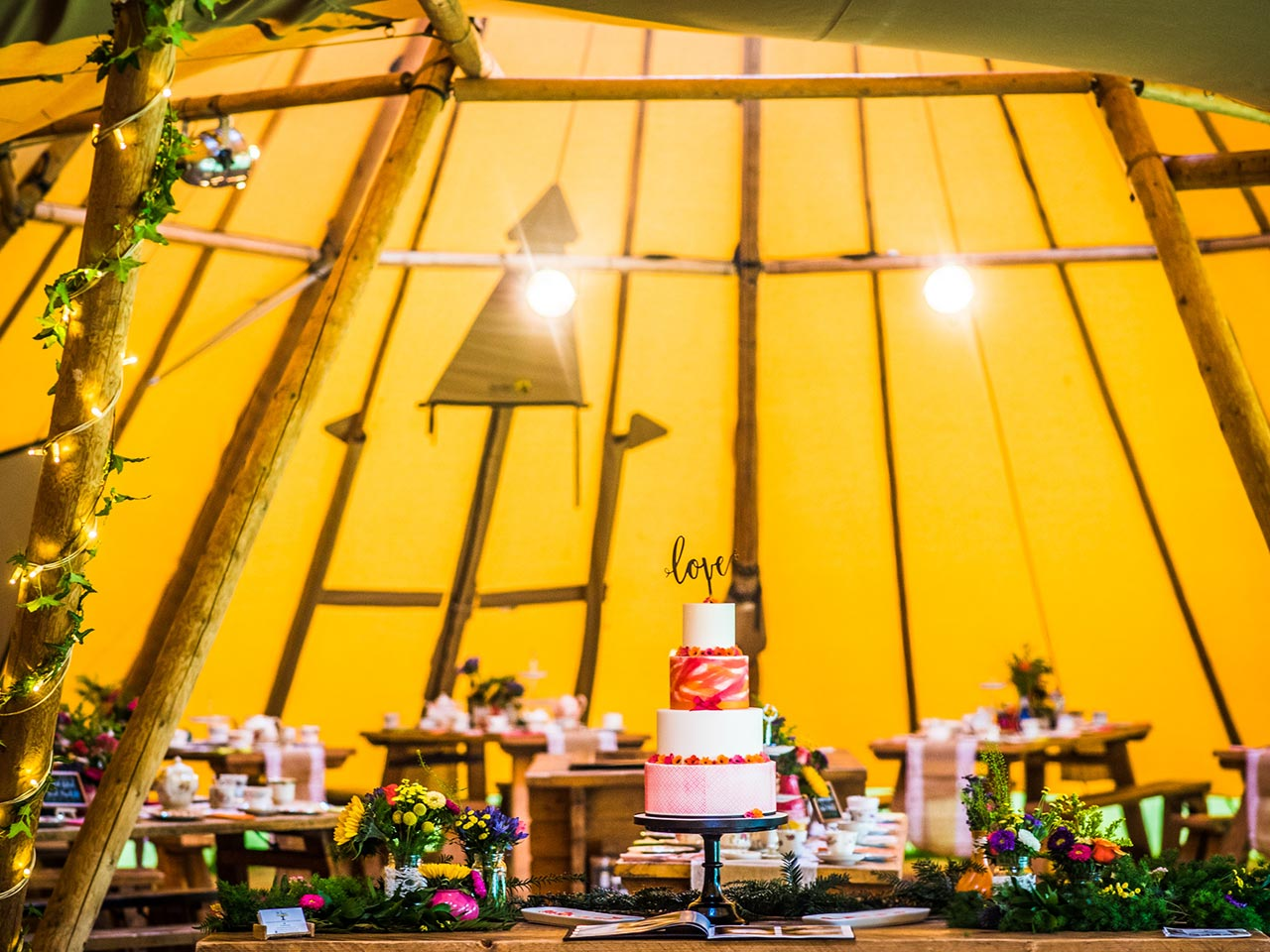 About Us - Magical Events in a Tipi