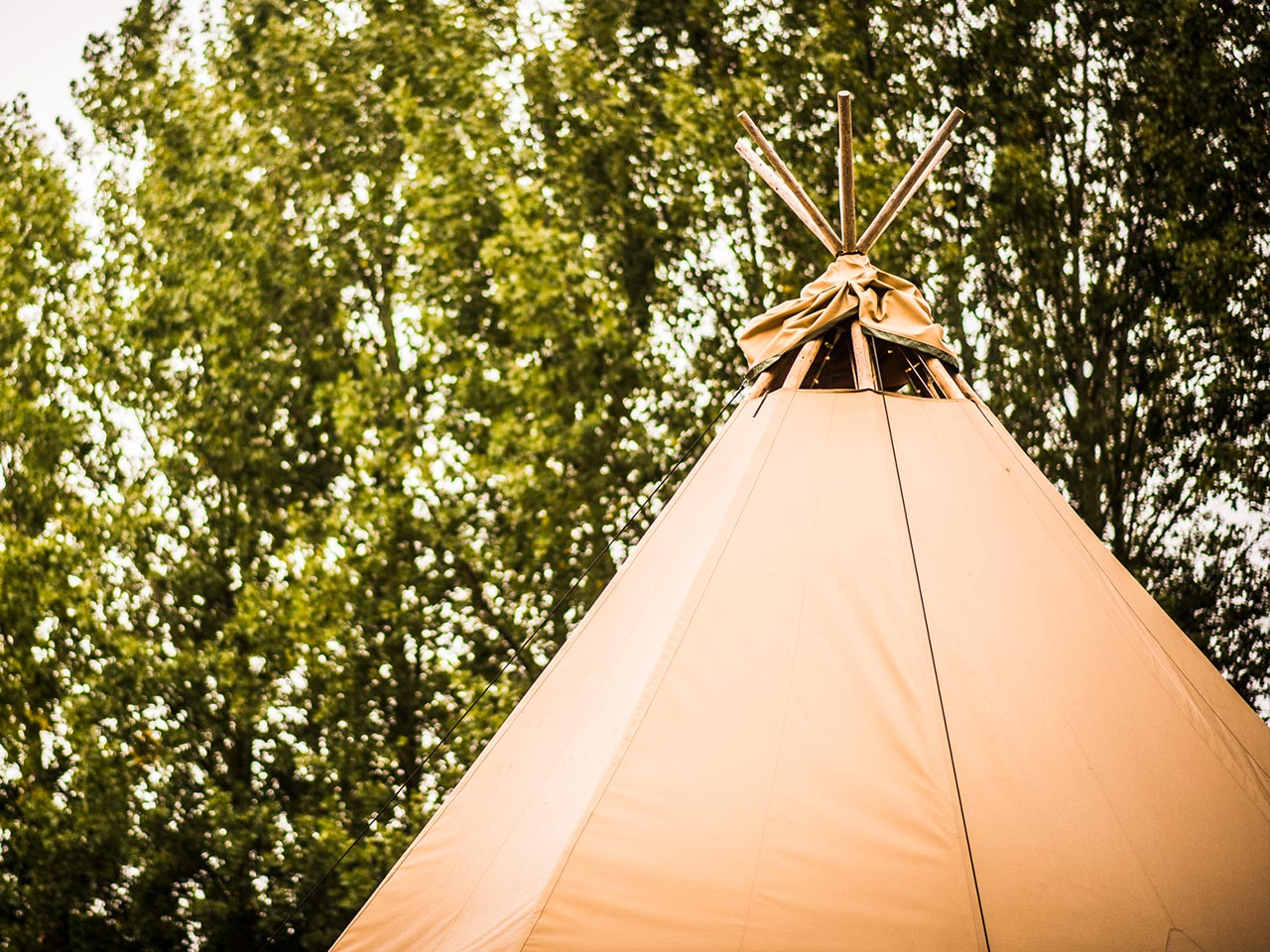 About us - One of our Tipis
